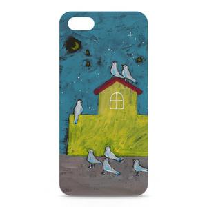「鳥の学校」iPhoneケース