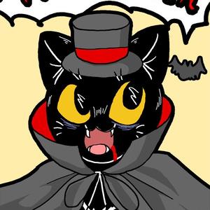 盛りたくさん★黒猫の可愛いハロウィンポストカードセット(9枚種類セット)