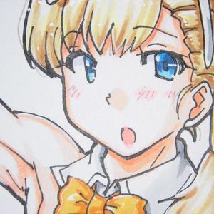 色紙 神鷹バニー(9)