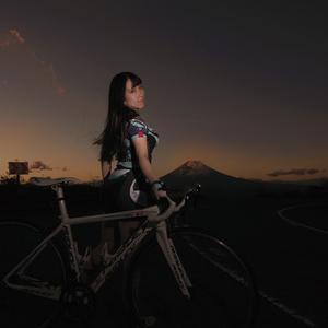 林檎蜜紀ロードバイク写真集データ版「アフターライト/ヨゾライド」