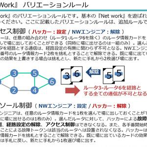 『Net Work』追加ルール・Q&A