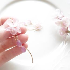 ❀北谷菜切❀ イメージピアス・花ゆら