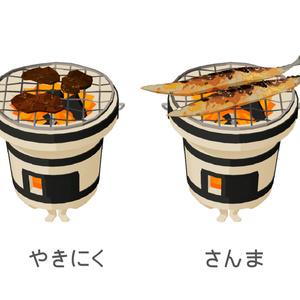 3D七輪(VRM&VRChat用モデル)