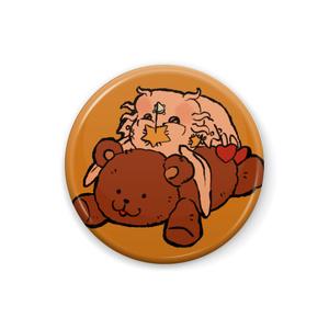 SBR缶バッジ(タスク&クマちゃん)