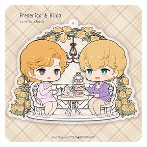 「銀英伝 フレデリカ&ヒルダ」アクキー