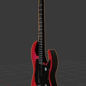 【3Dモデル】エレキギター