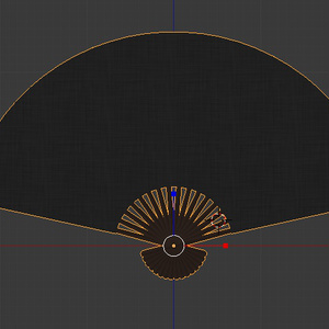 扇子(Folding fan)