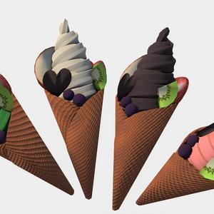 フルーツソフトクリーム