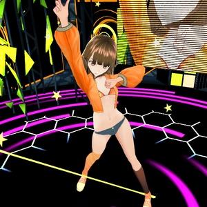 【VRoid用テクスチャ】ダンスジャケットビキニ