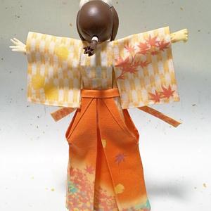 袴付着物 紅葉萠ゆる秋香