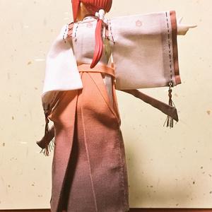 袴付着物  巫女装束