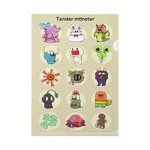 Tender monster クリアファイル