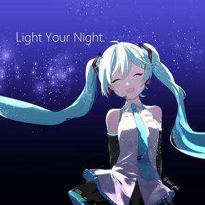 「Light Your Night.」アルバムアートワーク