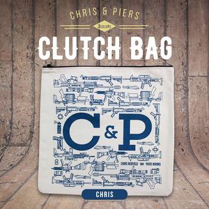 クリス&ピアーズ クラッチバッグ (4色)