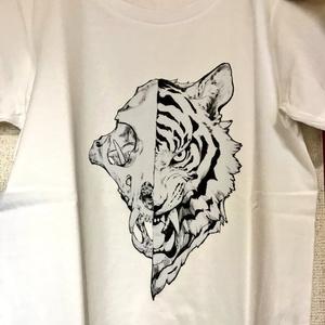 Tシャツ(フクロウと虎)