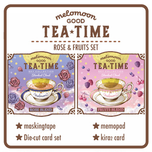 GOOD TEA TIME MIX SET-ROSE & FRUITS BLEND