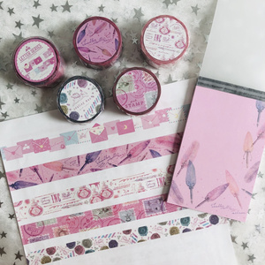 STAR COLLECTOR LETTER SERIES pink rabbit