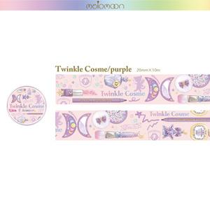 Twinkle cosme lavender マステ&BIGメモset