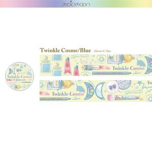 Twinkle cosme blue マステ&BIGメモset