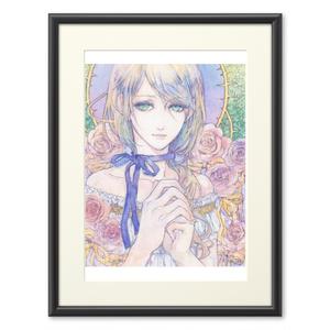 複製画『ジュリエッタの薔薇/Rose of Giulietta』