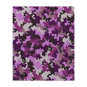 迷彩柄メガネ拭き 紫