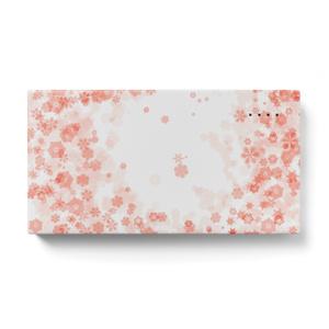 モバイルバッテリー 雪の桜