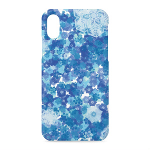 iPhoneケース 雪の結晶