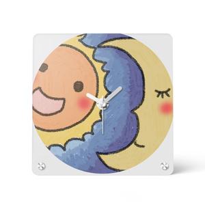 時計 太陽と月