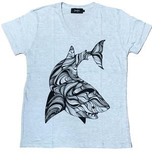 ホホジロザメTシャツ
