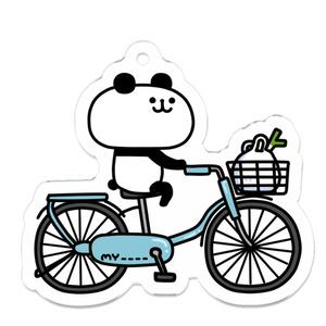 自転車パンダ