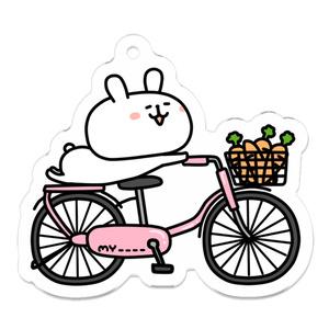 自転車うさぎ