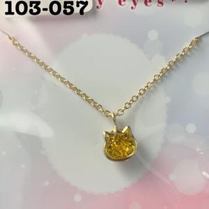 DD・MDDサイズ ドール用 ネックレス(猫)