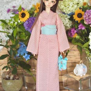 SD13少女サイズ 簡易浴衣