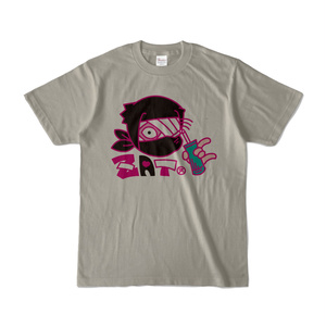 こんなもんTシャツ・シルバーグレー