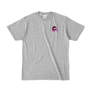 こんなもんTシャツ・杢グレー(包帯が白)