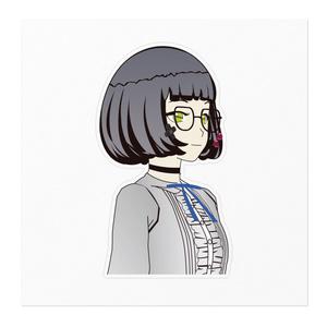 イェン円ちゃんステッカー(背景なし)