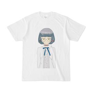 イェン円ちゃん基本立ち絵Tシャツ(キホンホワイト)