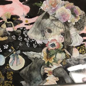 調香師(ウィラ・ナイエル) 水彩原画