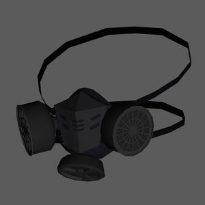 民間用防毒マスク △2558 fbx blend うにぱけ
