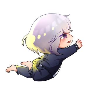 秋里夢女子、骨喰藤四郎アクリルキーホルダー