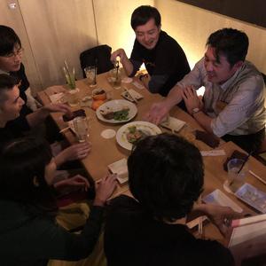 楽しい飲み会の写真