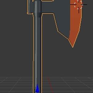 片刃電熱斧