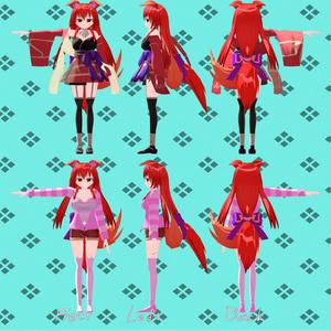 オリジナル3Dモデル『木染』
