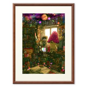 『Mush Room』 (複製画プリモアート)