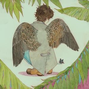 「羽の人」 -鳥の擬人化イラスト制作-
