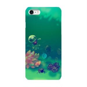 【送料込み】イカした水族館iPhone つやケース