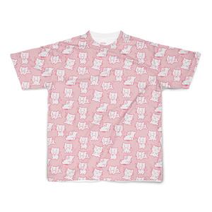 にぃみゃん フルデザイン Tシャツ 【ピンク】