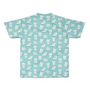 にぃみゃん フルデザイン Tシャツ 【グリーン】