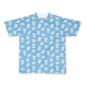 にぃみゃん フルデザイン Tシャツ 【ブルー】