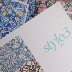 万年筆イラスト画集『Stylo(スティロ) 3 』